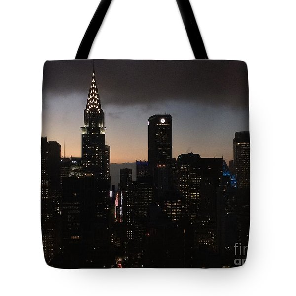 The Lady Chrysler Tote Bag