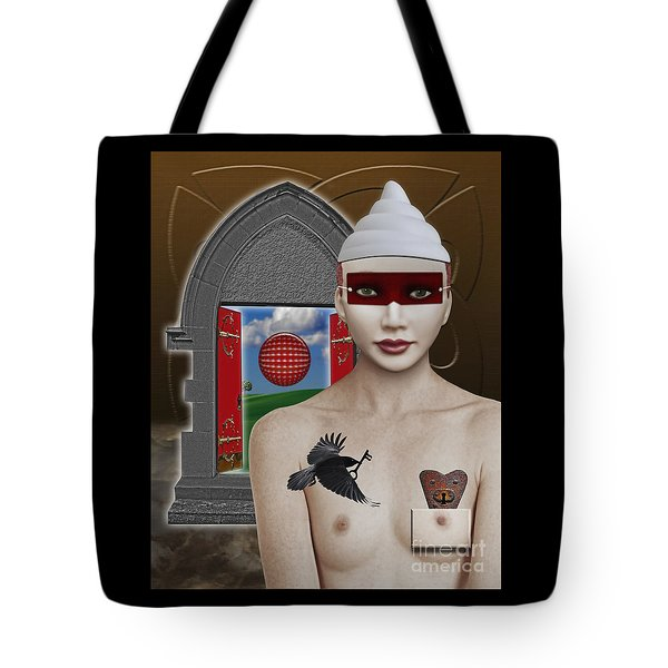 The Lady In Waiting Tote Bag by Keith Dillon