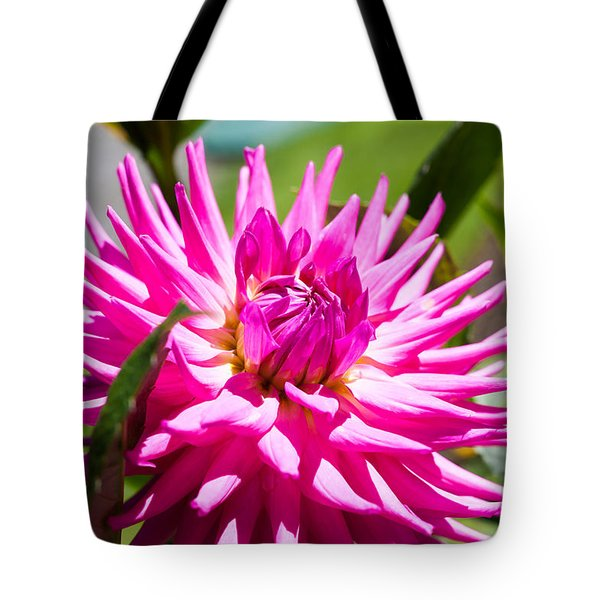 The Lady Is A Dahlia Tote Bag