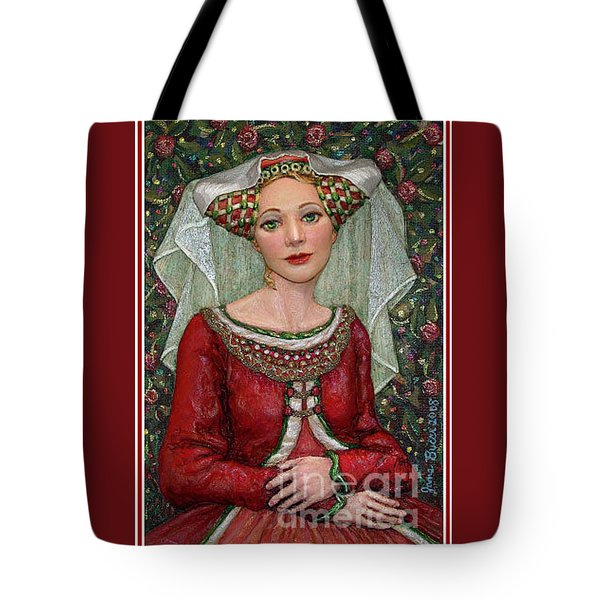 The Lady Mae   Bas Relief Miniature Tote Bag by Jane Bucci