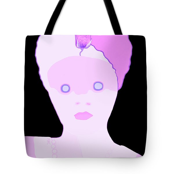 The Lady Of Peacock Hill Tote Bag