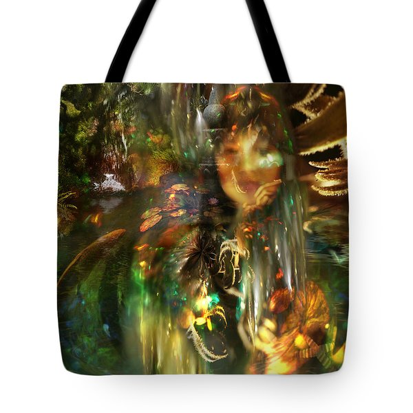 The Lady Of The Lake Tote Bag