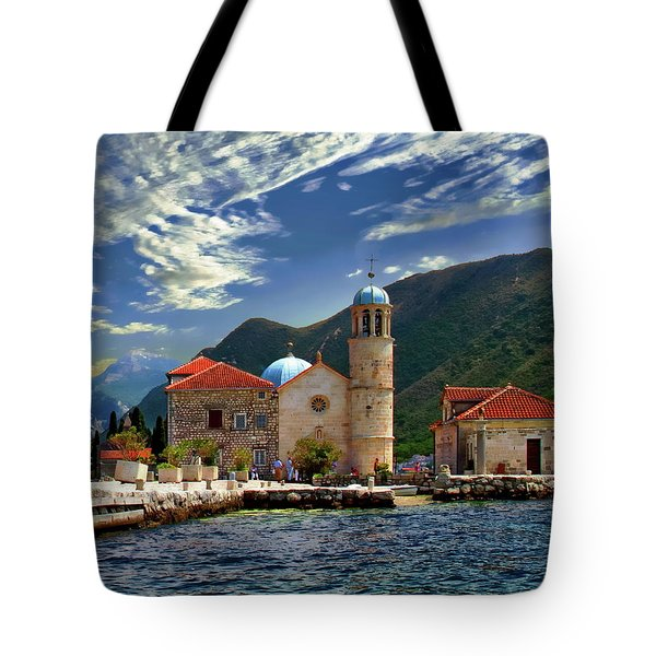 The Lady Of The Rocks Tote Bag