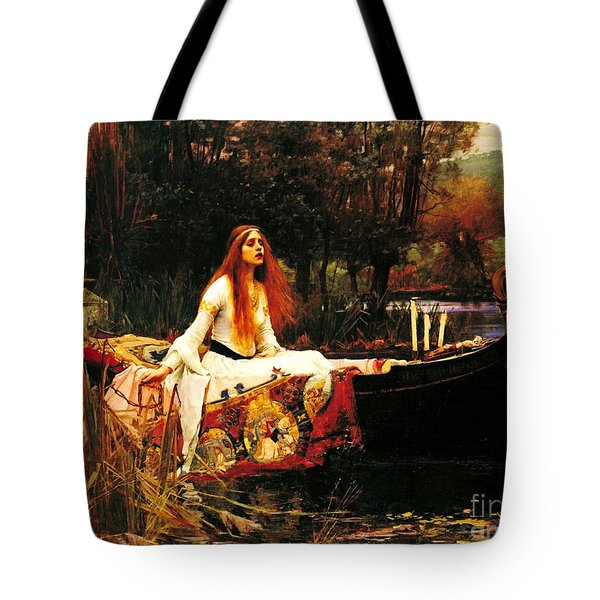The Lady Of The Shalot Tote Bag