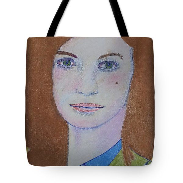 The Lady's Not For Turning Tote Bag