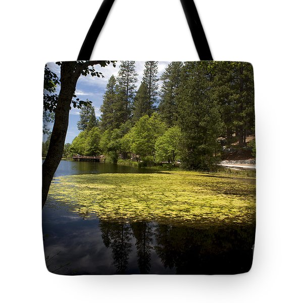 The Lake Fulmor Tote Bag by Ivete Basso Photography