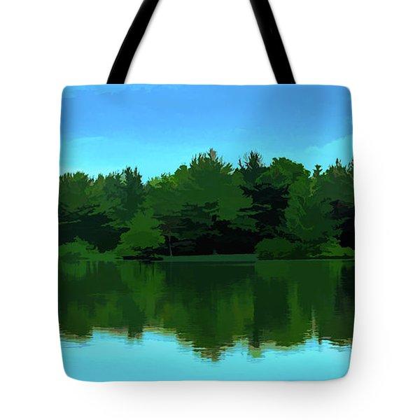 The Lake - Impressionism Tote Bag