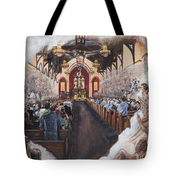 The Lamb's Supper Tote Bag