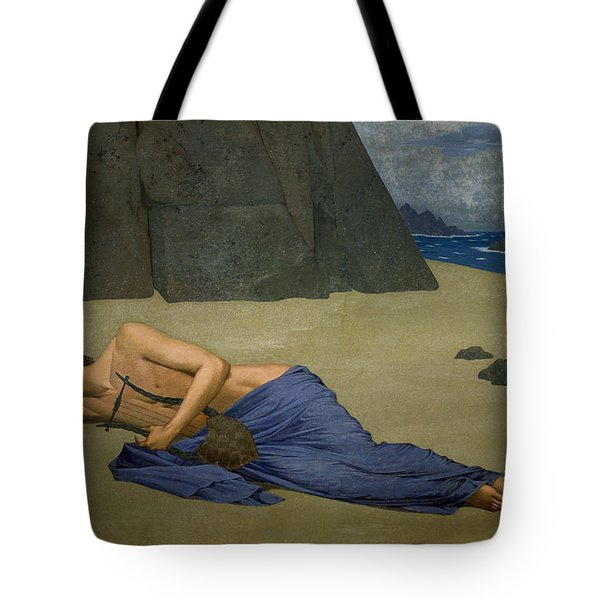 The Lamentation Of Orpheus Tote Bag by Alexandre Seon