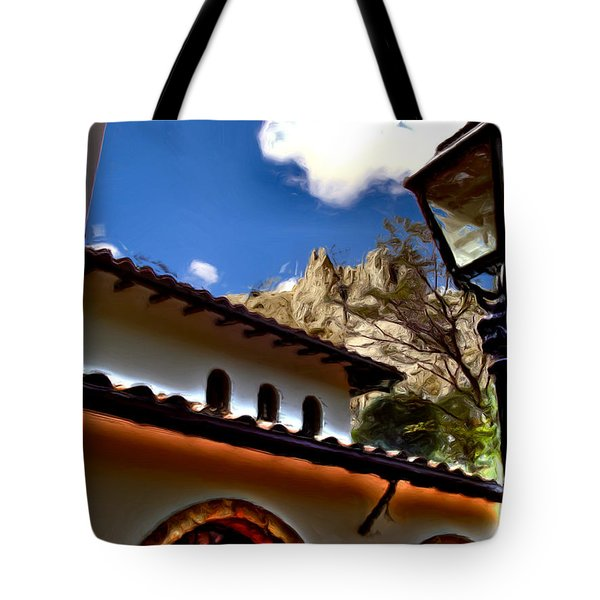 The Lamp Post Tote Bag by Francisco Colon