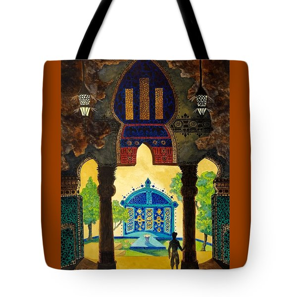 The Lamp's Garden Tote Bag