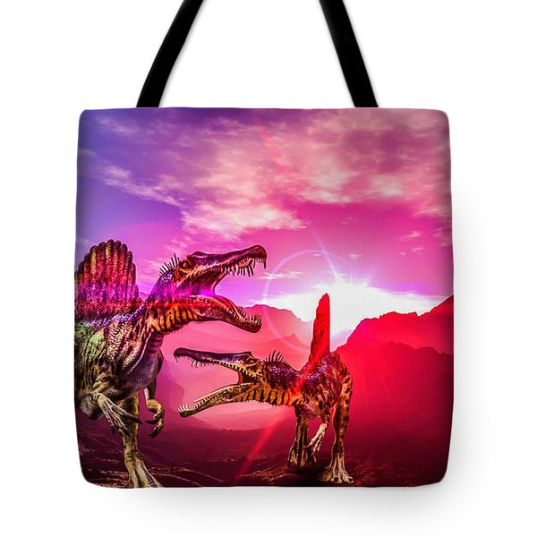 The Land Before Time 1 Tote Bag by Naomi Burgess
