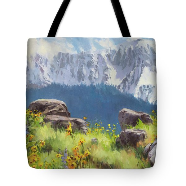 The Land Of Chief Joseph Tote Bag