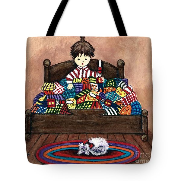 The Land Of Counterpane Tote Bag