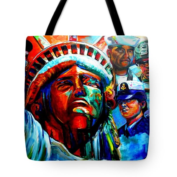 The Land Of The Free  Tote Bag