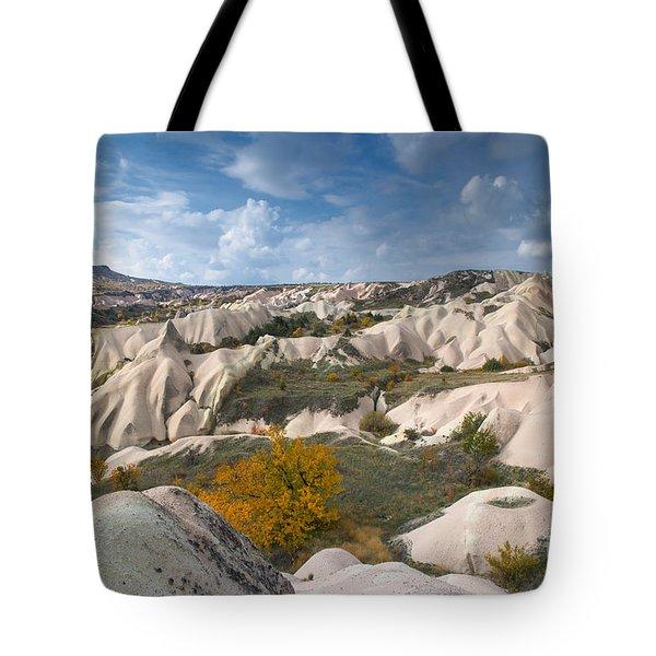 The Landscape Of Cappadocia Tote Bag by Yuri Santin