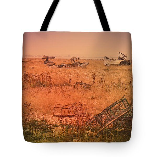 The Landscape Of Dungeness Beach, England 2 Tote Bag