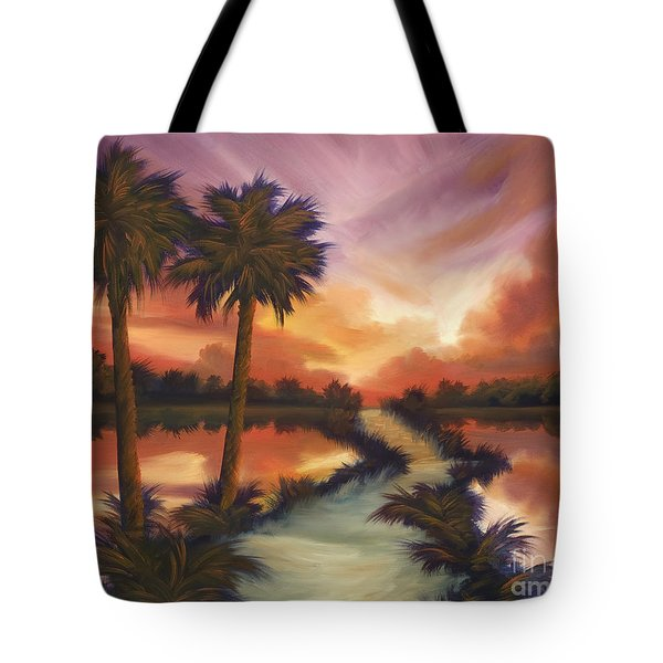 The Lane Ahead Tote Bag