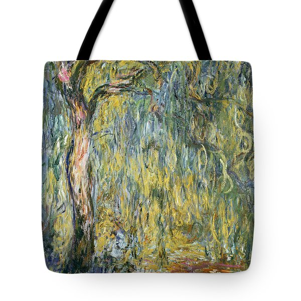 The Large Willow At Giverny Tote Bag