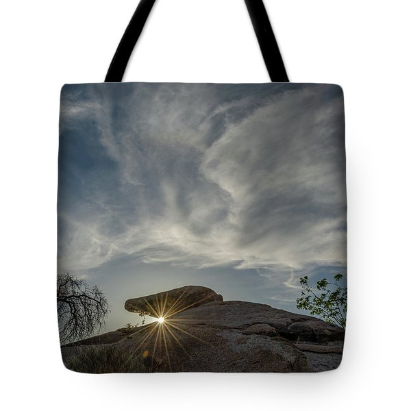 Tote Bag featuring the photograph The Last Blast by Gaelyn Olmsted