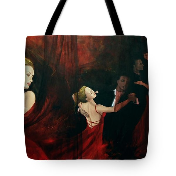The Last Dance Tote Bag by Dorina  Costras