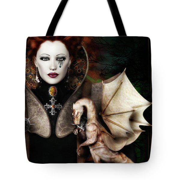 The Last Dragon Tote Bag by Shanina Conway