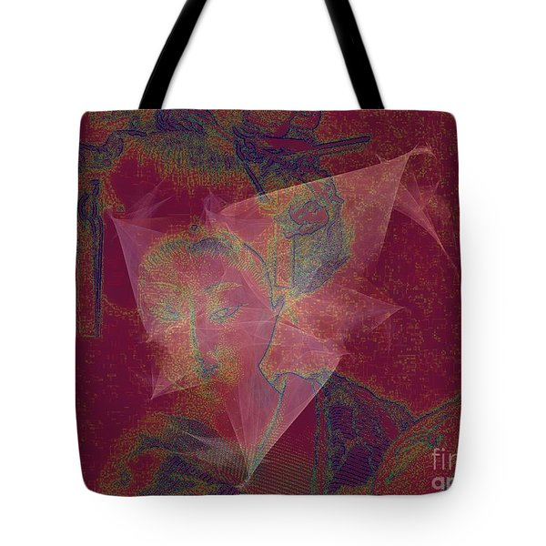 The Last Geisha Tote Bag by Irma BACKELANT GALLERIES