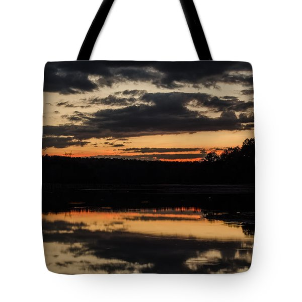 The Last Glow Tote Bag