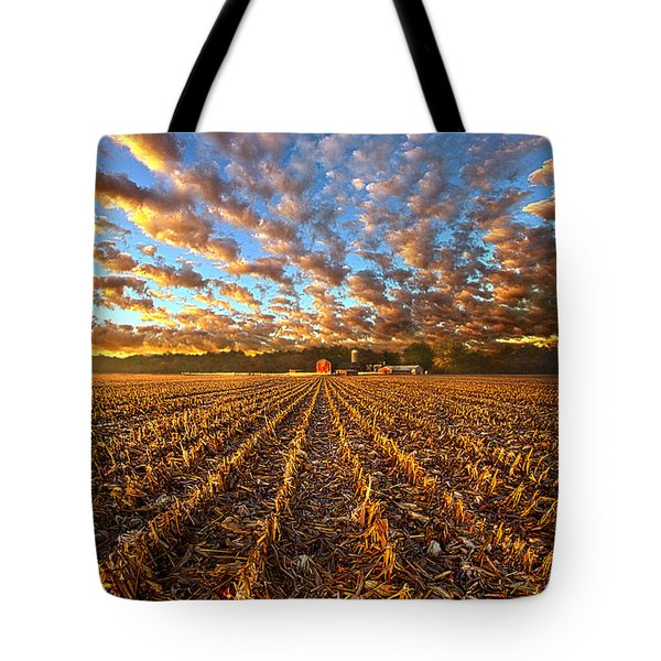 The Last Harvest Tote Bag