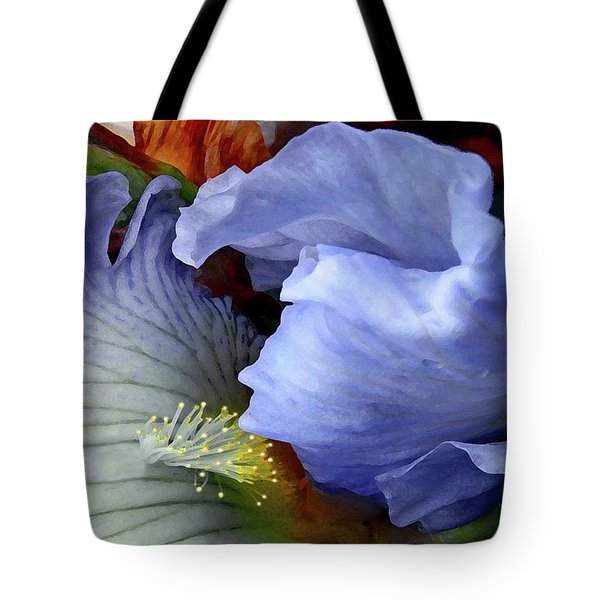 The Last Iris Tote Bag