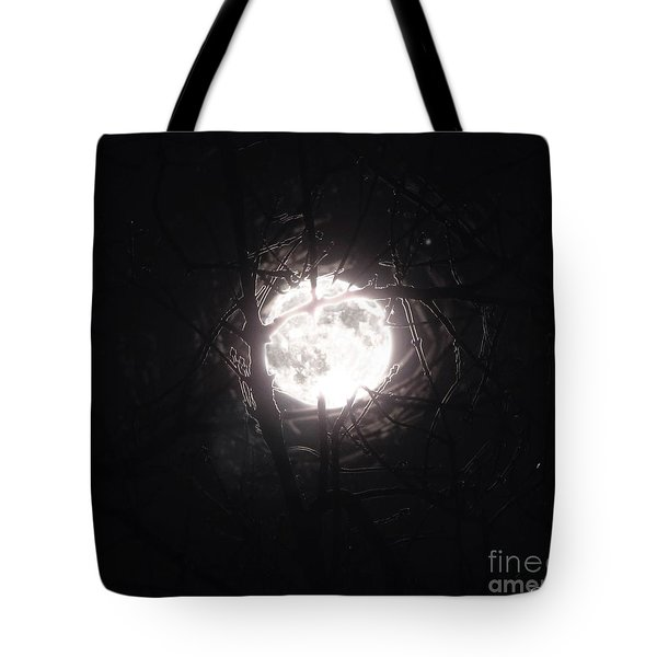 The Last Nights Moon Tote Bag