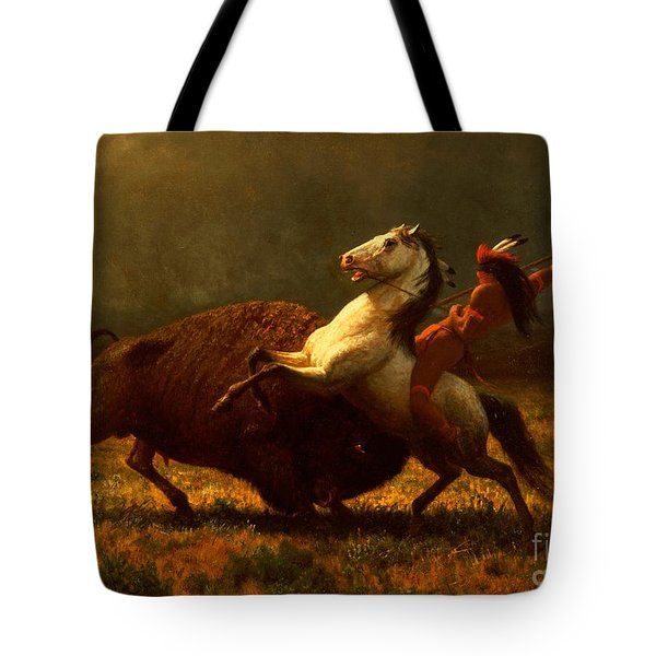 The Last Of The Buffalo Tote Bag