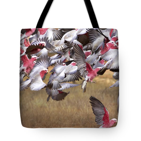 The Last One In The Air Tote Bag by Bill  Robinson