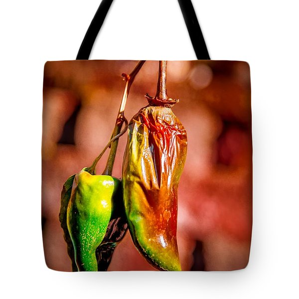 The Last Peppers Tote Bag