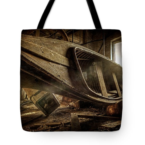 The Last Port Tote Bag by Everet Regal