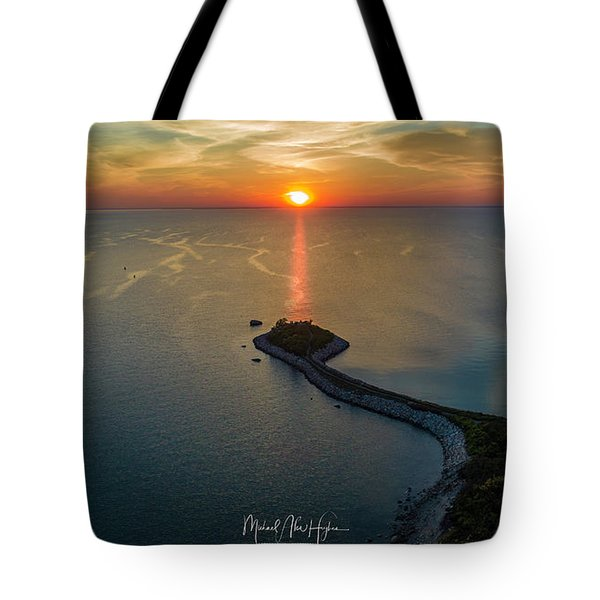 The Last Ray Tote Bag