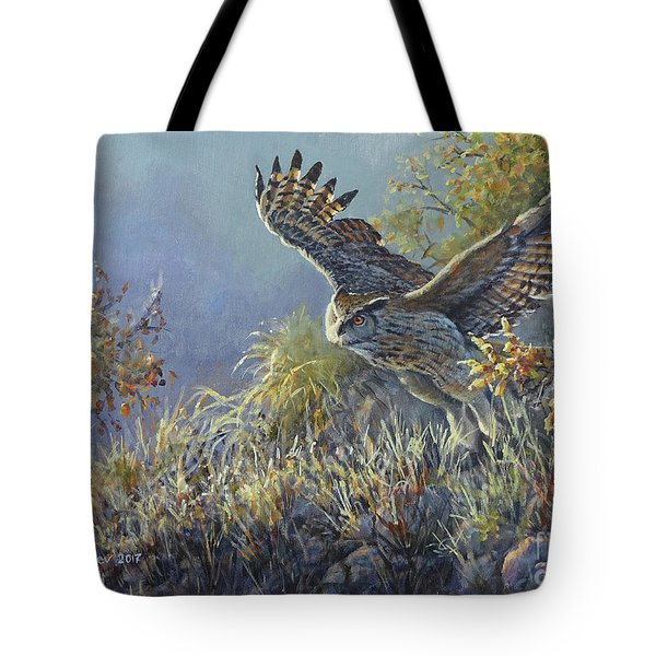 The Last Rays Of The Sun Tote Bag