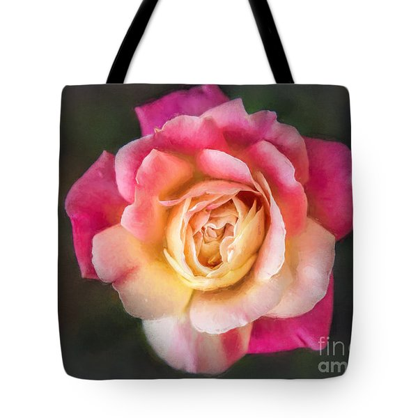 The Last Rose Of Summer, Painting Tote Bag