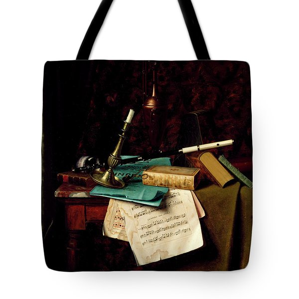 The Last Rose Of Summer Tote Bag