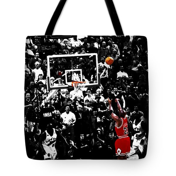 The Last Shot 23 Tote Bag by Brian Reaves