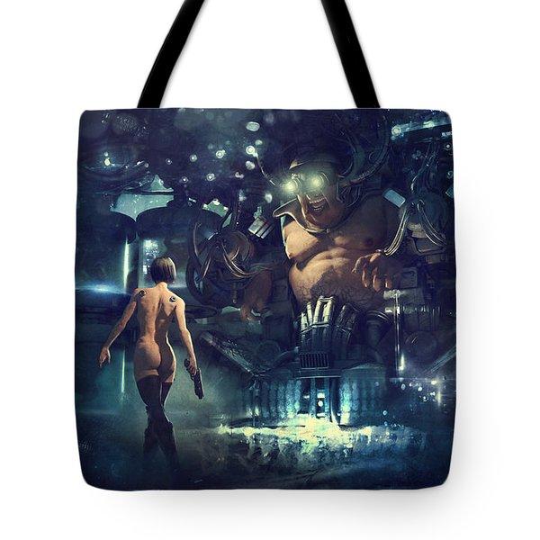 The Last Smile Tote Bag