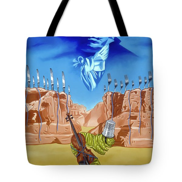 The Last Soldier An Ode To Beethoven Tote Bag