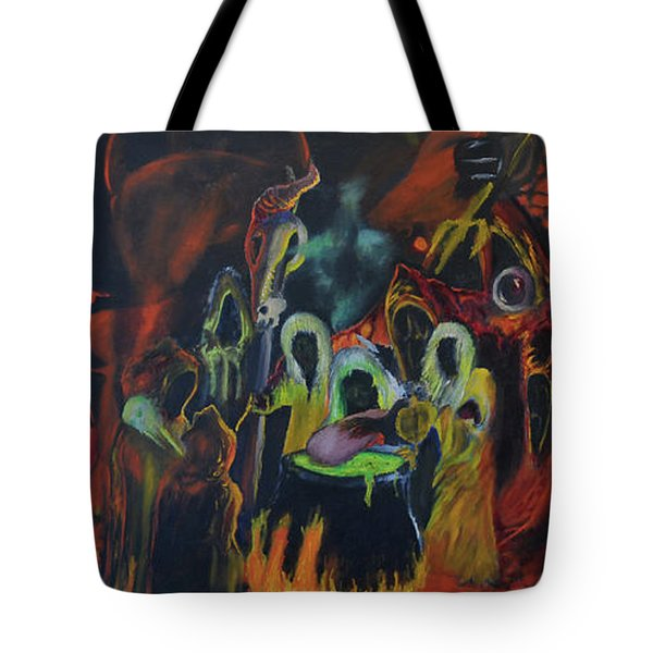 The Last Supper Tote Bag by Christophe Ennis