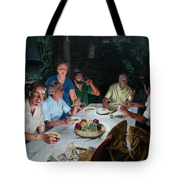 The Last Supper Tote Bag by Dave Martsolf