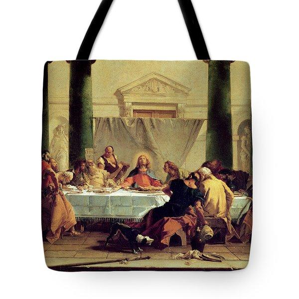 The Last Supper Tote Bag by Giovanni Battista Tiepolo