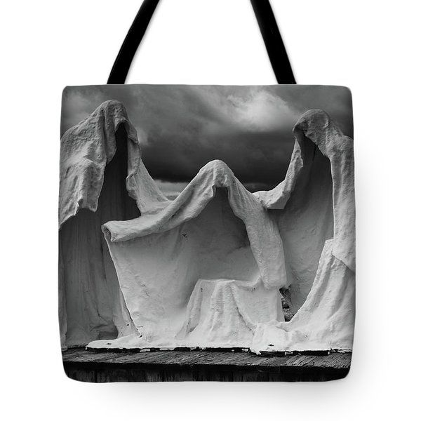 Tote Bag featuring the photograph The Last Supper by Kyle Hanson