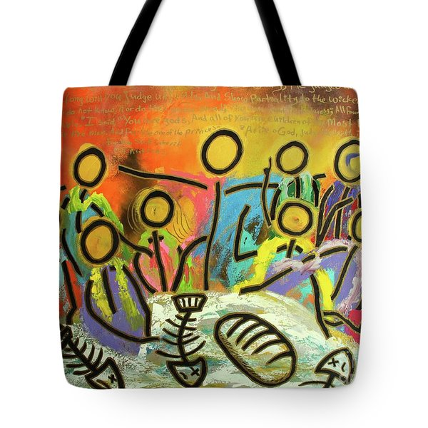 The Last Supper Recitation Tote Bag
