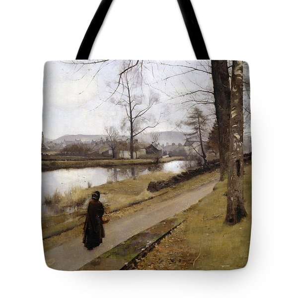 The Last Turning Tote Bag by James Paterson