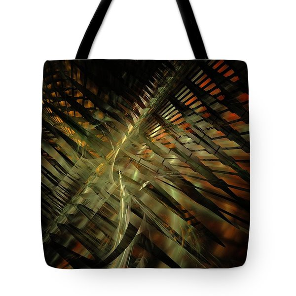 The Last Vestiges Of Winter Tote Bag by NirvanaBlues
