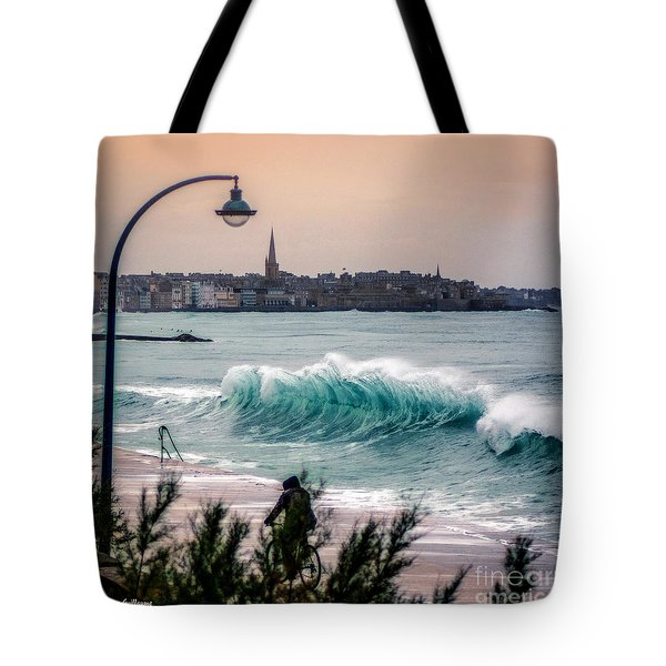 The Last Wave Tote Bag